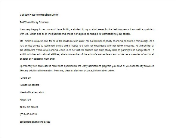 letter of recommendation student - Deanroutechoice - recommendation letters for student