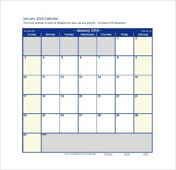 Calendar Template - 41+ Free Printable Word, Excel, PDF, PSD