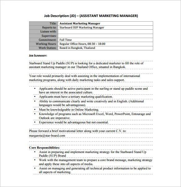 Marketing Assistant Job Description Assistant-Office-Manager-Job - accounting clerk job description