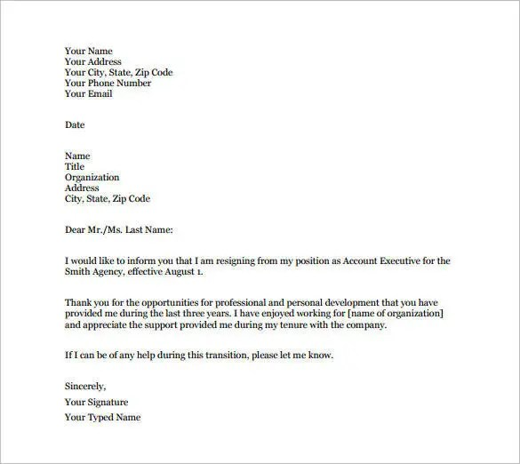 Professional Letter And Email Writing Guidelines Business Letter - free mail sample