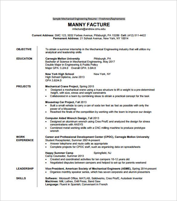 resume eit certified