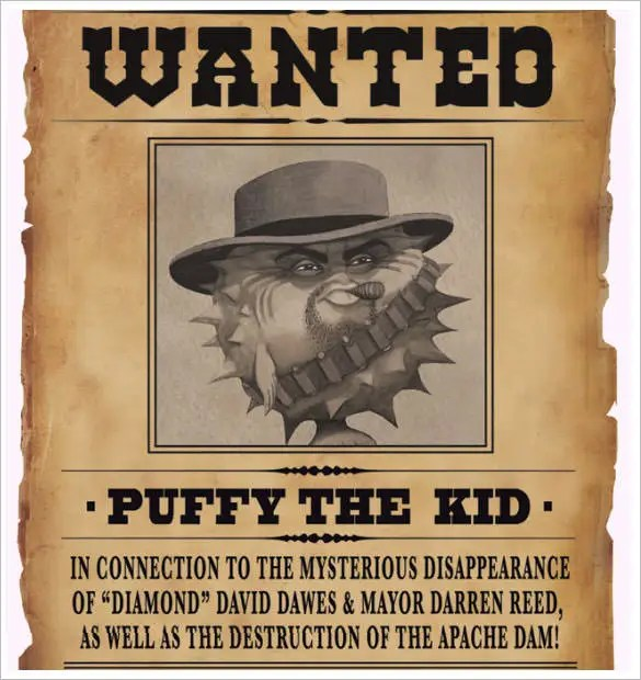 sample wanted poster - Goalgoodwinmetals - example of a wanted poster