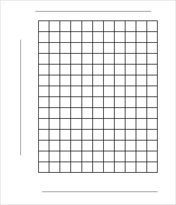 38+ Graph Paper Templates - PDF,DOC Free  Premium Templates - making graph paper in word