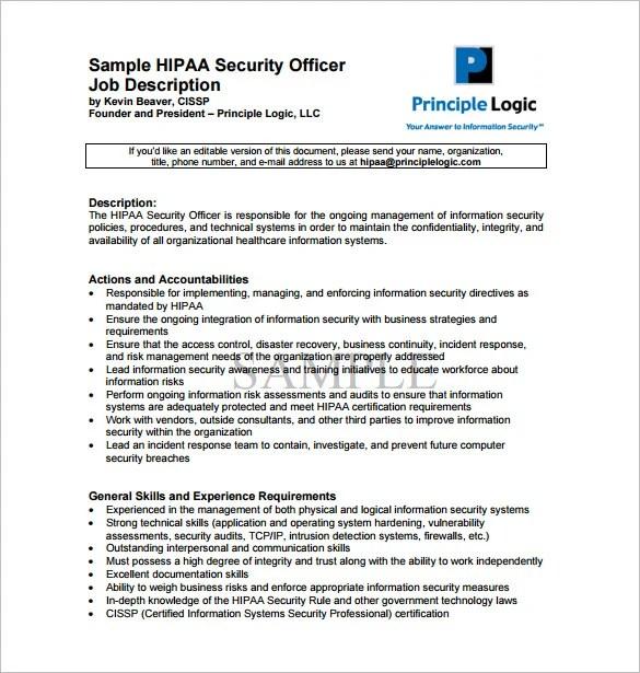 military police job description for resume perfect