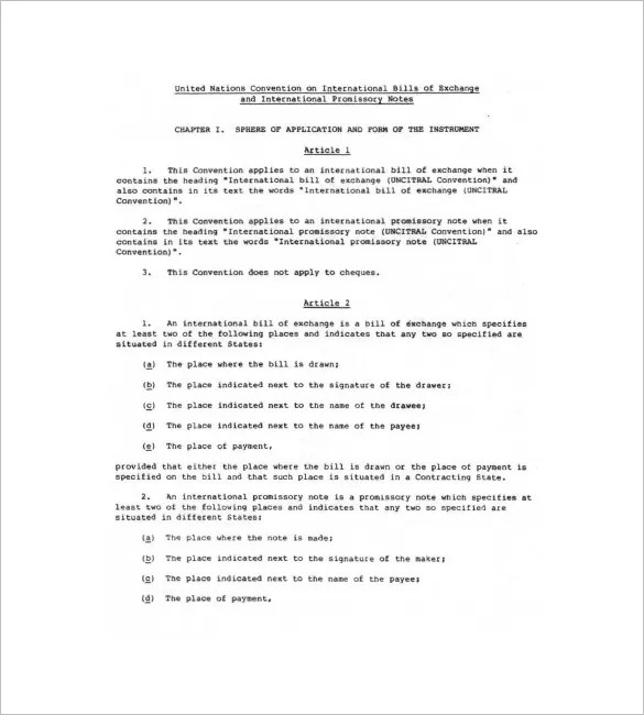 international promissory note template - Akbagreenw