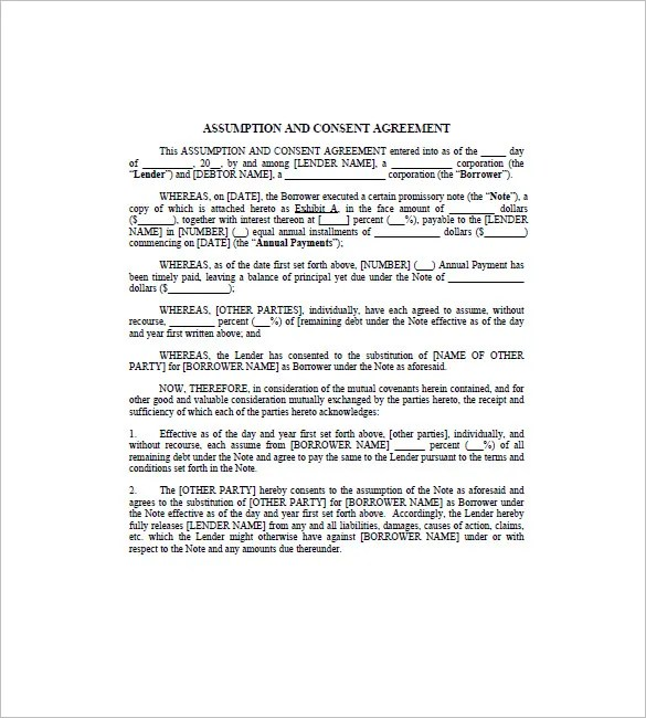 Assignment of Promissory Note \u2013 8+ Free Word, Excel, PDF Format - promissory note parties