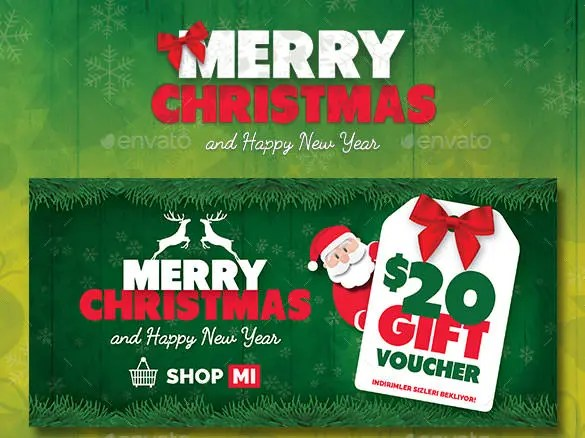 150+ Christmas Card Templates \u2013 Free PSD, EPS, Vector, AI, Word - christmas gift card templates free