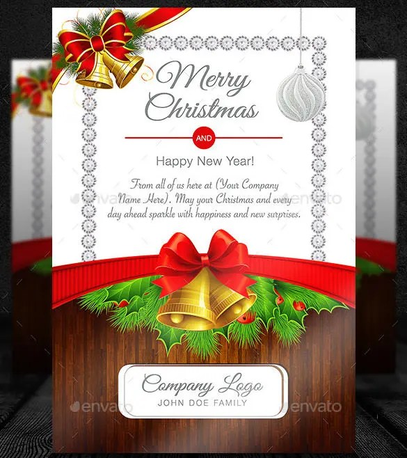 150+ Christmas Card Templates \u2013 Free PSD, EPS, Vector, AI, Word - free greeting cards templates for word