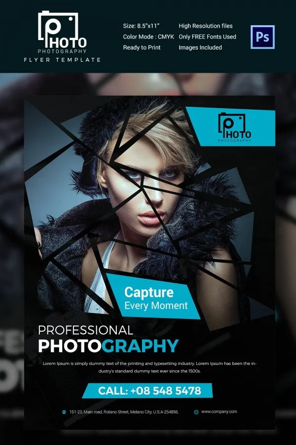 Photography Flyer Template - 28+ Free PSD Format Download! Free