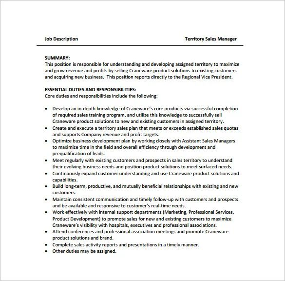 field manager job description