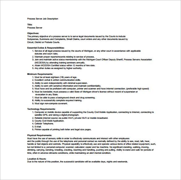 process server job description - Gottayotti