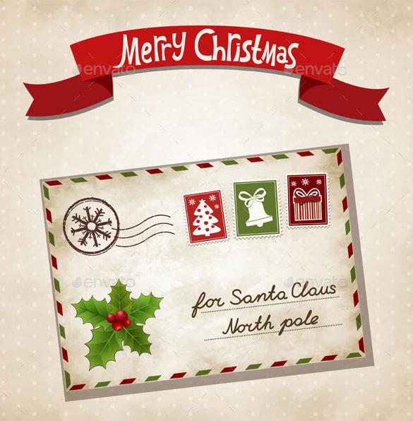 35+ Christmas Letter Templates \u2013 Free PSD, EPS, PDF Format Download - christmas card letter templates
