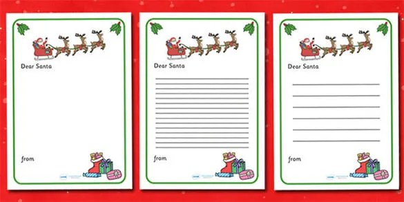 35+ Christmas Letter Templates \u2013 Free PSD, EPS, PDF Format Download - christmas letter templates