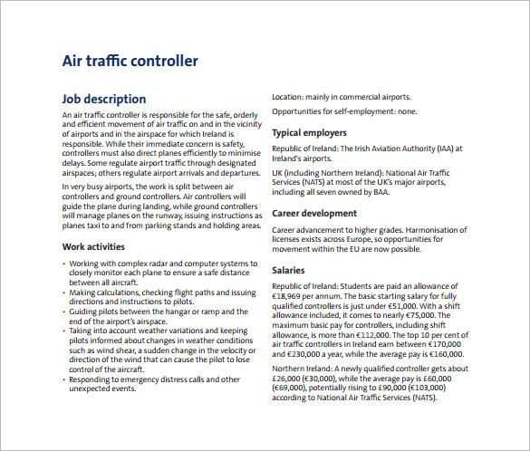 12+ Controller Job Description Templates - Free Sample, Example