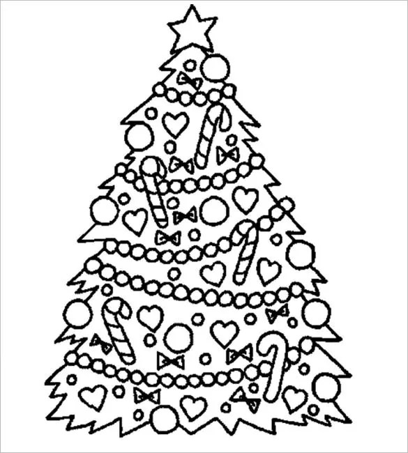 32+ Christmas Tree Templates - Free Printable PSD, EPS, PNG, PDF