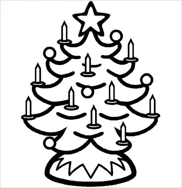 23+ Christmas Tree Templates - Free Printable PSD, EPS, PNG, PDF