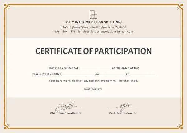 How to Make a Certificate in Microsoft Word \u2013 Tutorial Free - i owe you certificate