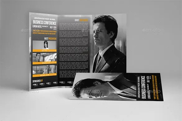 19+ Conference Brochure Templates - Free PSD, EPS, AI, InDesign
