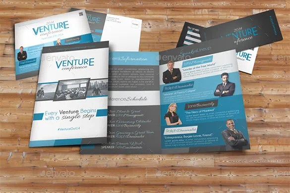 20 + Conference Brochure Templates - Free PSD, EPS, AI, InDesign