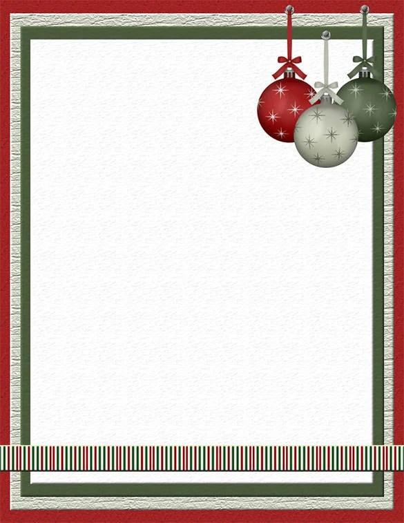 25+ Christmas Stationery Templates - Free PSD, EPS, AI, Illustrator
