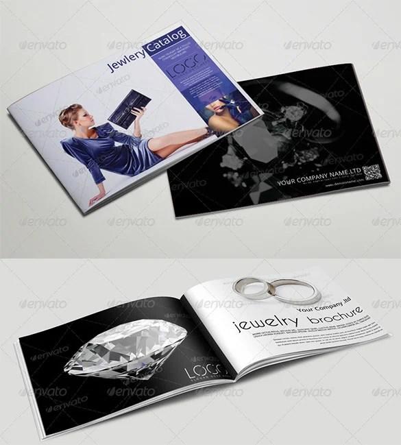 Jewelry Brochure Template Design ID 0000001362