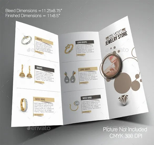 19+ Jewelry Brochure Templates - Free PSD, EPS, AI, InDesign, Word