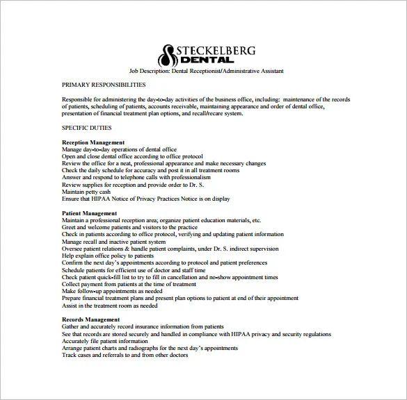 pediatric assistant job description