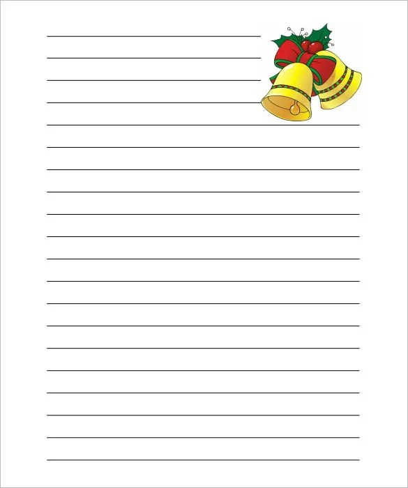 christmas note paper template - Ozilalmanoof - note paper template