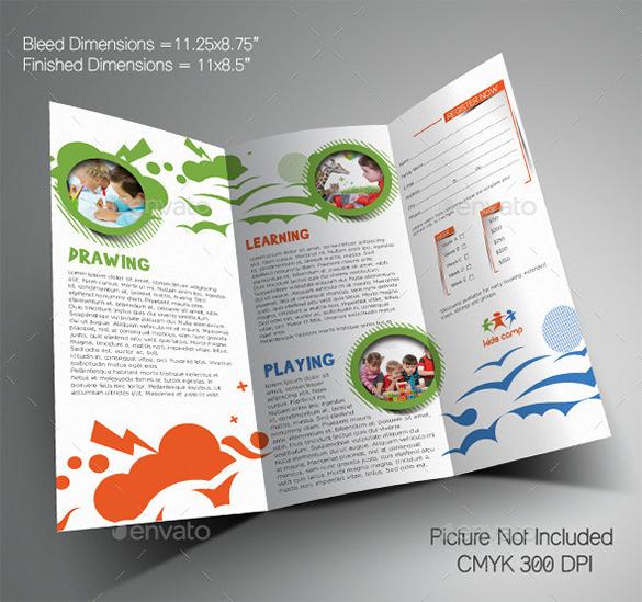 24+ Kindergarten Brochure Templates Free  Premium Templates