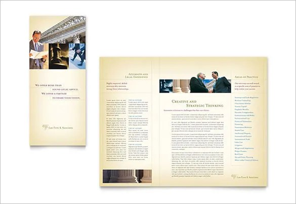 15+ Legal Brochure Template u2013 Free PSD, EPS, AI, InDesign, Word - services brochure
