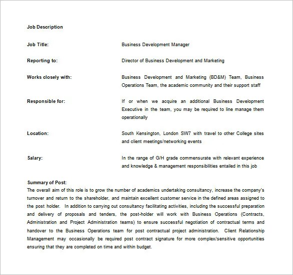 Marketing Executive Job Description Career Eurasia Food Processing - executive director job description
