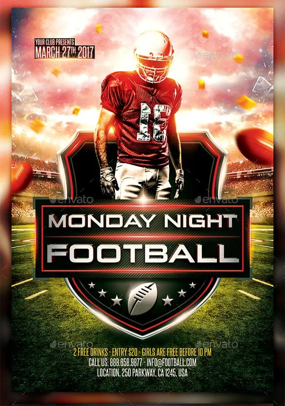 football poster template free - Ozilalmanoof - free sports flyer templates