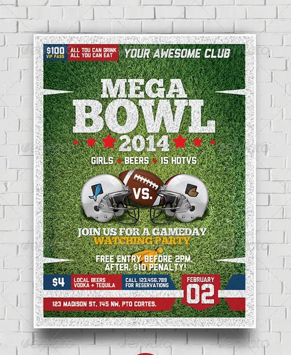 25+ Football Flyer Templates - PSD, EPS, AI, InDesign Free