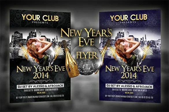 25+ New Year Flyer Templates - PSD, EPS, Indesign, Word Free