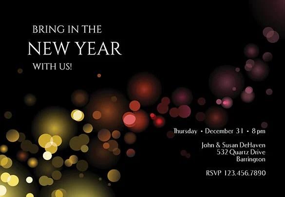 28+ New Year Invitation Templates \u2013 Free Word, PDF, PSD, EPS
