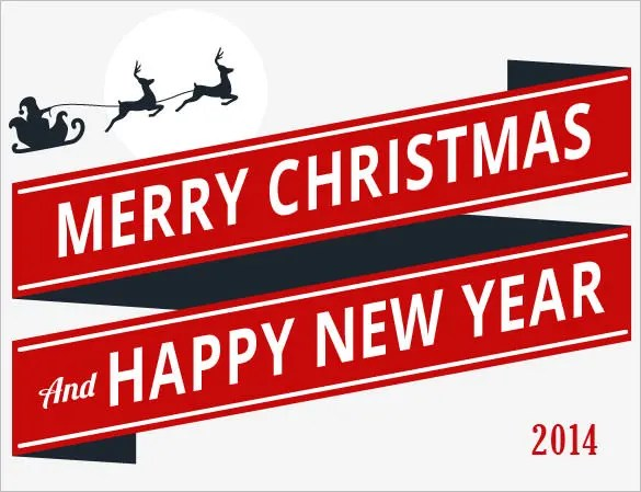 14+ New Year Email Templates \u2013 Free PSD, PHP, HTML, CSS Format - merry christmas email banner
