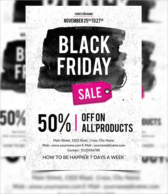 26+ Black / Dark Flyer Templates - PSD, AI Free  Premium Templates