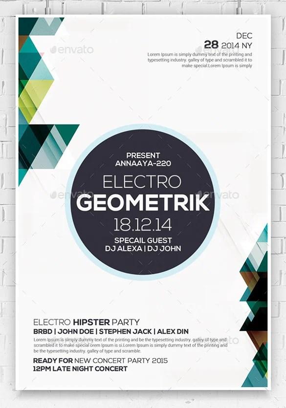 23+ Geometric Flyer Templates - PSD, EPS, AI, InDesign Free