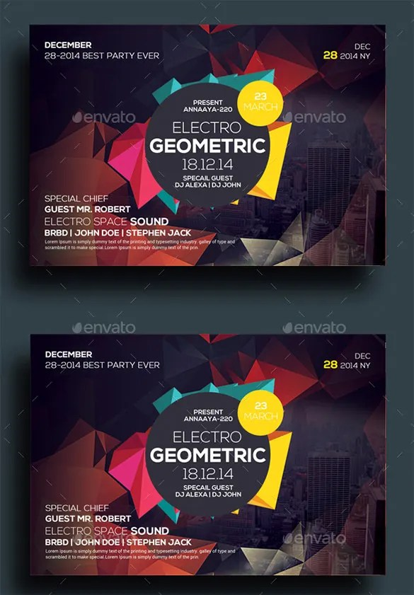 23+ Geometric Flyer Templates - PSD, EPS, AI, InDesign Free