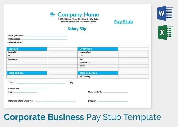 Salary Payslip Format Free Download In Excel - instalzoneipad