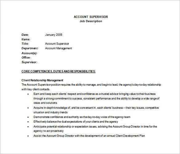 job description template word doc - Onwebioinnovate - job description word template