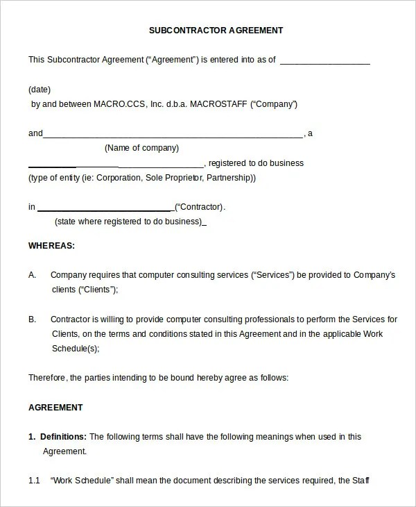 Non Compete Agreement Template - 12+ Free Word, PDF Format Free