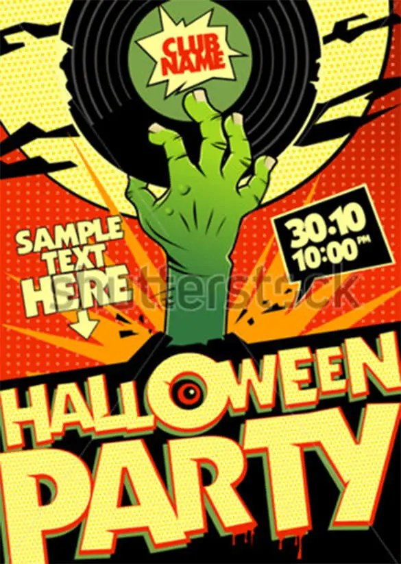 21+ Zombie Flyer Templates - Free PSD, EPS, AI, InDesign, Word, PDF