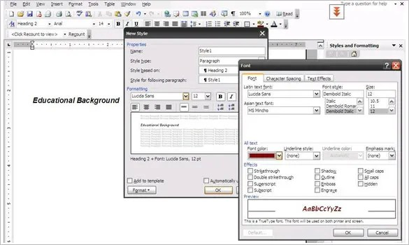 How to Create a Professional Resume Using Microsoft Word \u2013 Tutorial