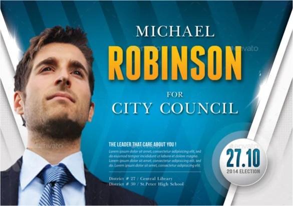 9+ Election Brochure Templates \u2013 Free PSD, EPS, Illustrator, AI, PDF