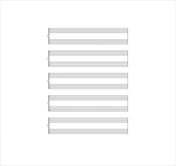 Music Staff Paper Template Guitar Music Sheet Pdf Template Free - music staff paper template
