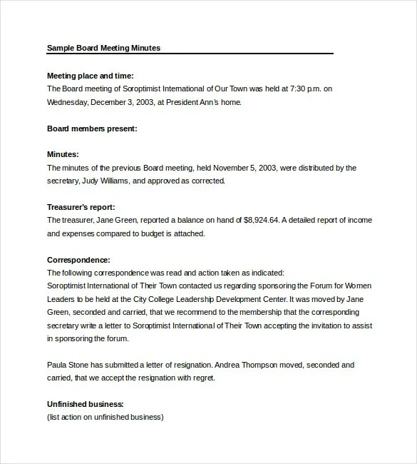 Word Meeting Agenda Template – Microsoft Word Agenda Templates