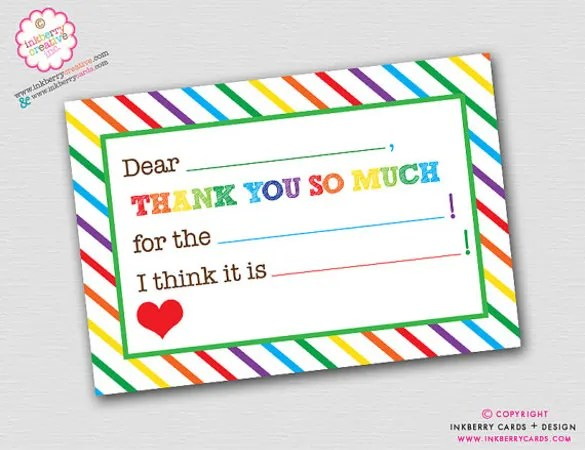 8+ Birthday Thank You Notes \u2013 Free Sample, Example, Format Download
