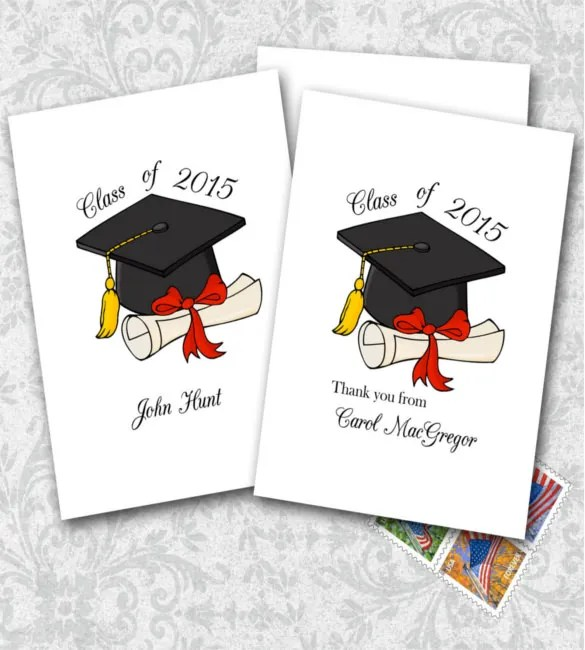 15+ Graduation Thank You Notes \u2013 Free Sample, Example, Format