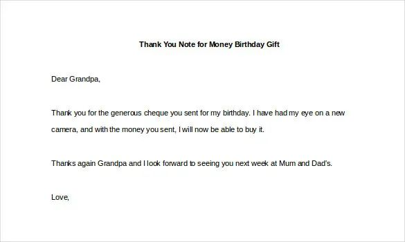 thank you note to boss for birthday gift
